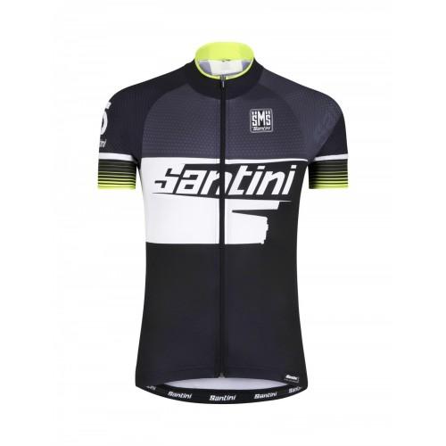 Santini ATOM S/S Jersey Full Zip