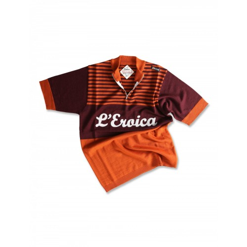 Santini Eroica Gaiole Chianti Wool S/S Jersey