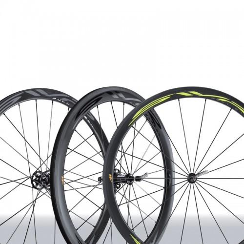 MICHE Clincher SWR Full Carbon RC - Tubeless ready