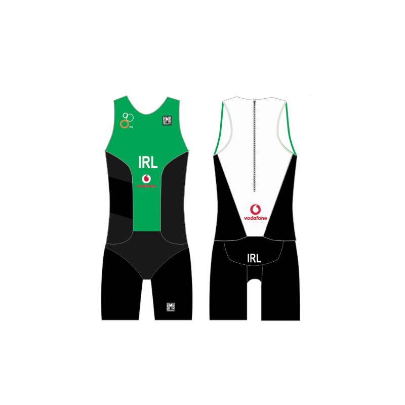 Santini Triathlon Ireland TRI Suit MEN - DMC Sports 3b817f6b10