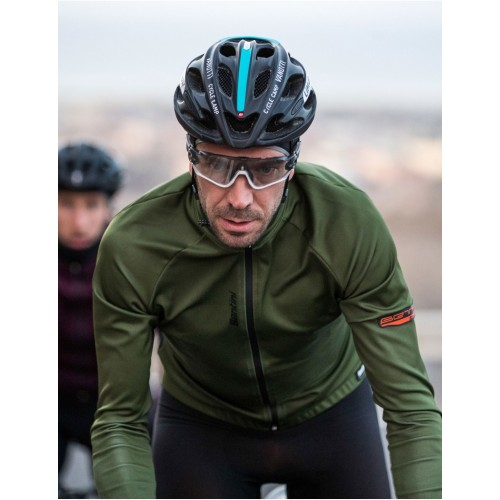 Santini BETA Winter 2019 Jacket Green